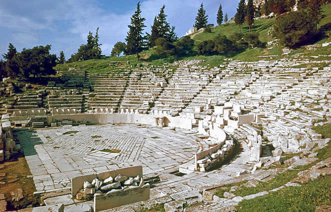 Tour 3: Dionysos Theatre